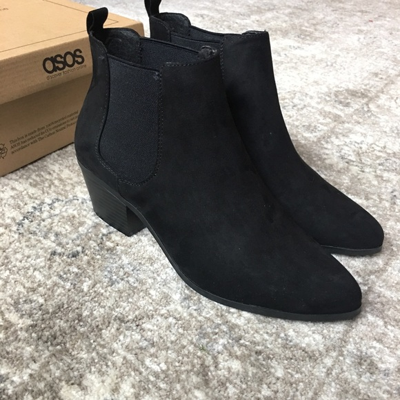 997aa31db52 ASOS Revive Chelsea Ankle Boots NWT